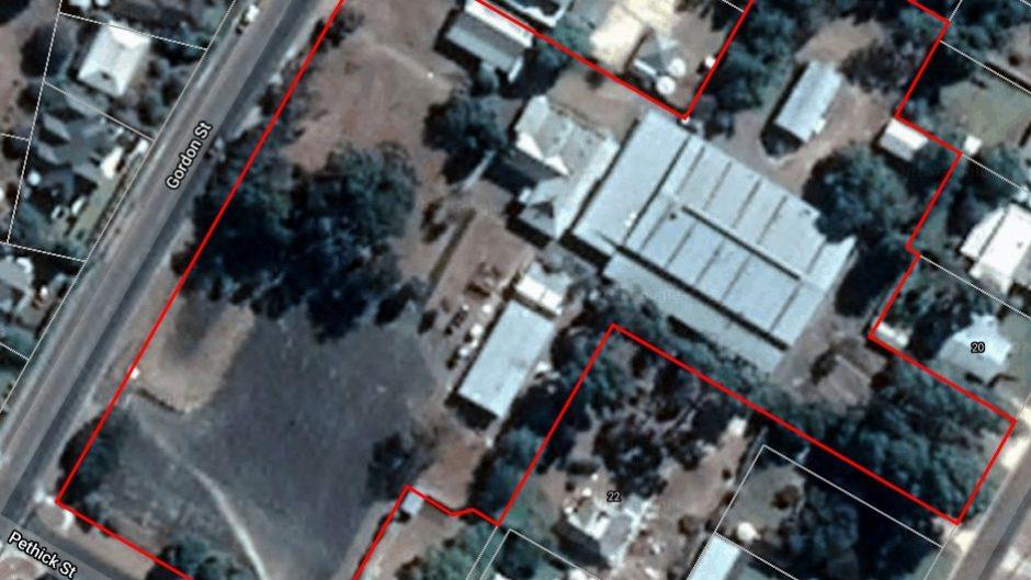Aerial Image of Tafe Site